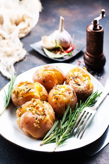 High Protein Baked Potatoes