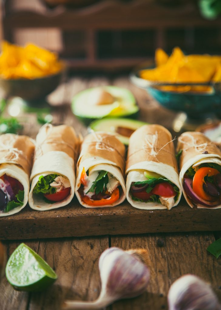 Chilli Tortilla Roll-Ups
