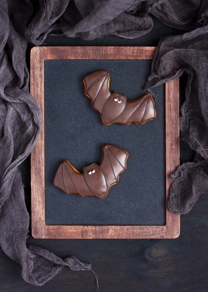Bat Cookies | Halloween Recipes