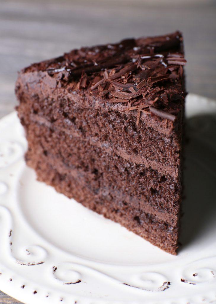 Chocolate Velvet with Coffee Cream