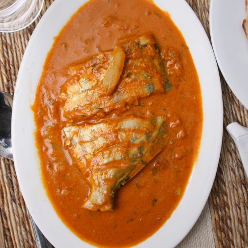 Spicy Malai Fish Curry