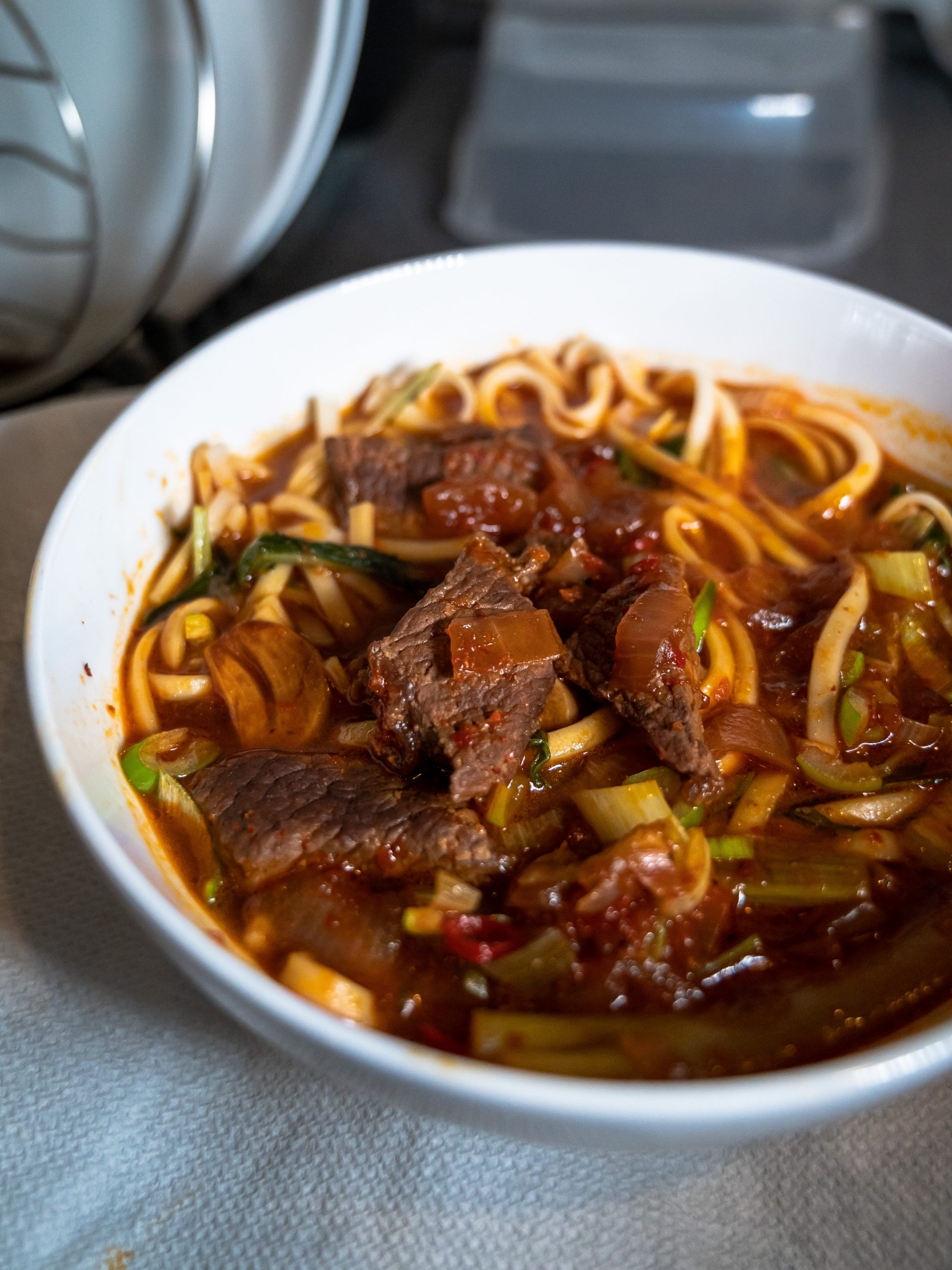 Red Braised Beef Noodle Soup 紅燒牛肉麵 (Modified Version)