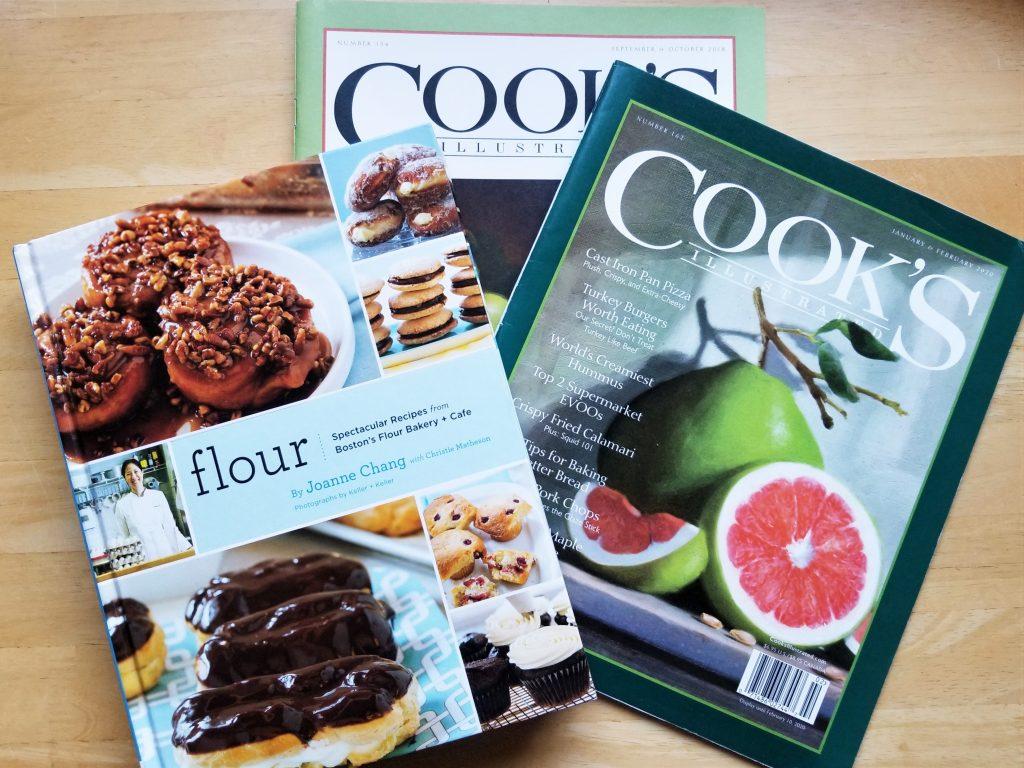 Alison's go-to cookbooks