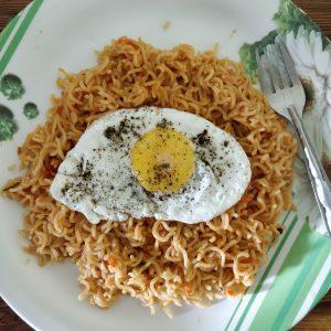 Easy Egg Maggi Recipe