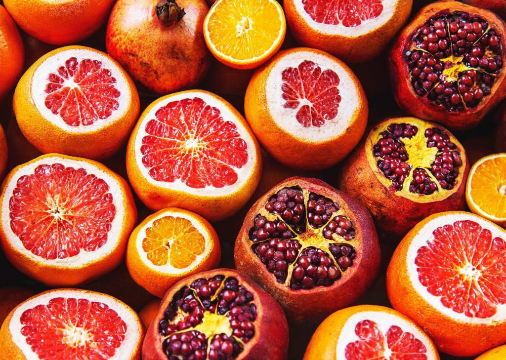 Nutritional Value of Citrus Fruits and Vegetables