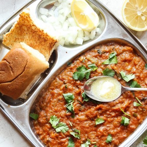 Authentic Indian Pav Bhaji Recipe