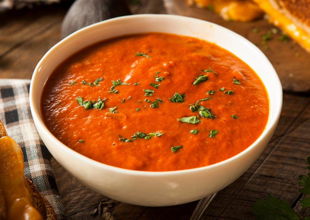 Chilled Tomato and Yoghurt Soup
