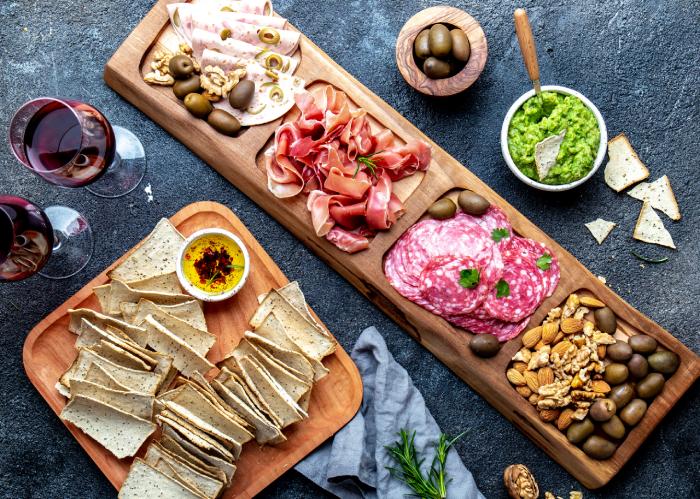 Antipasto Platter| Party Snack Ideas