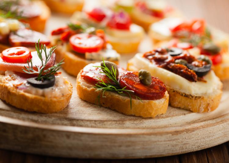 Crostini| Party Snack Ideas