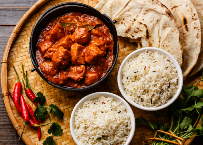 Chicken tikka masala is one of the most liked and widely available Indian curries.
