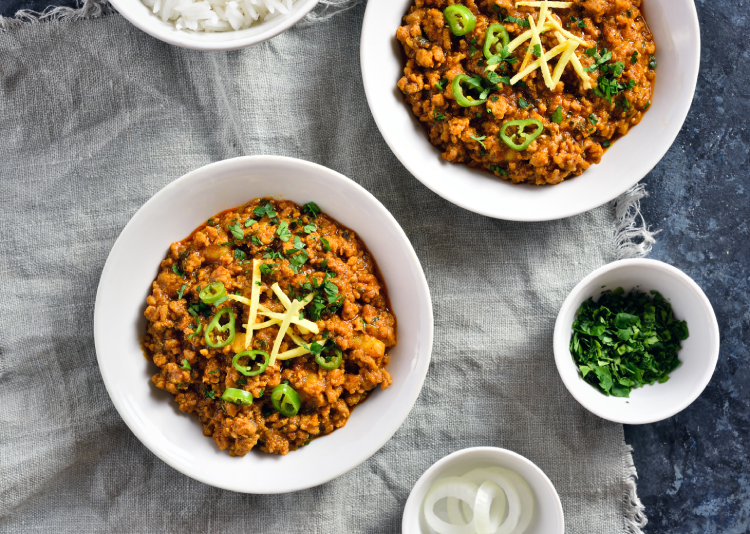 Keema can be enjoyed in different forms in Indian curries.