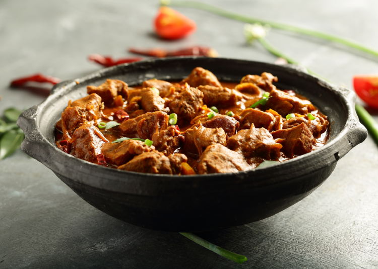 Rogan Josh is one of the Indian curries that packs a flavourful punch.