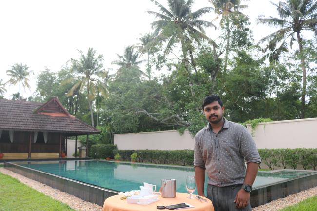 chef Vishnu Kanjeemeen