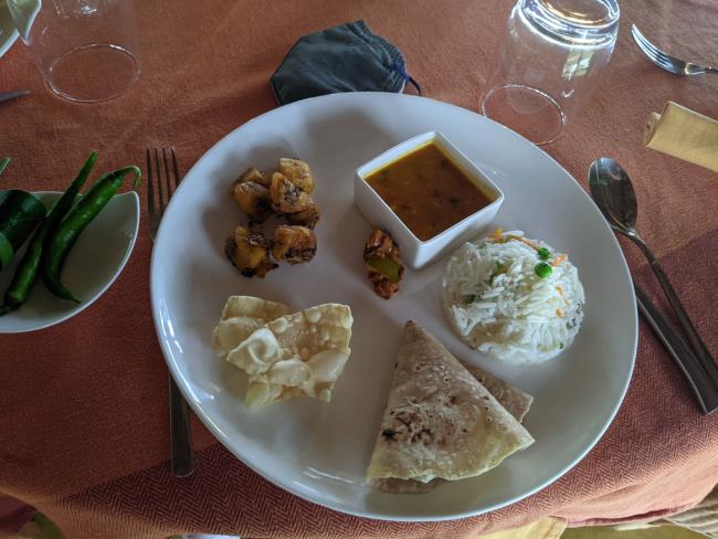 Lunch at Vismaya Lake Heritage